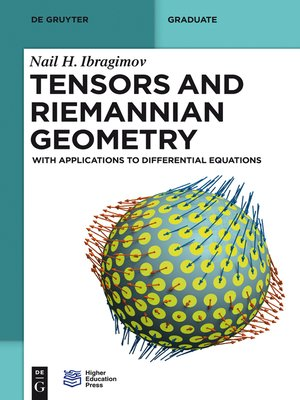 cover image of Tensors and Riemannian Geometry