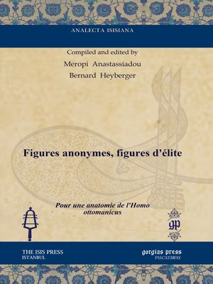 cover image of Figures anonymes, figures d'élite