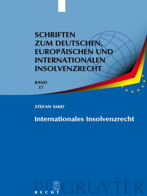 cover image of Internationales Insolvenzrecht