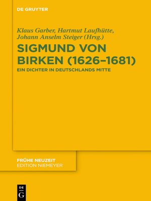 cover image of Sigmund von Birken (1626–1681)