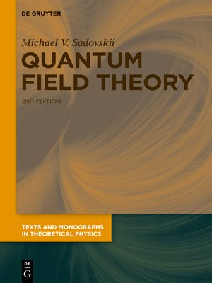 cover image of Quantum Field Theory
