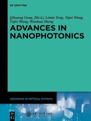 cover image of Advances in Nanophotonics