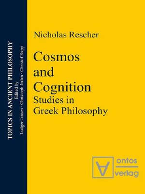 cover image of Cosmos and Logos