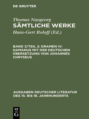 cover image of Dramen IV
