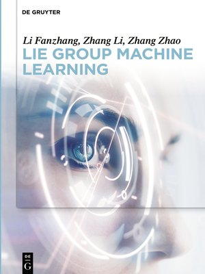 cover image of Lie Group Machine Learning
