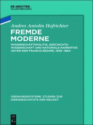 cover image of Fremde Moderne