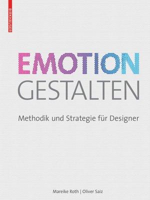 cover image of Emotion gestalten