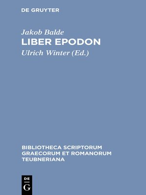 cover image of Liber Epodon