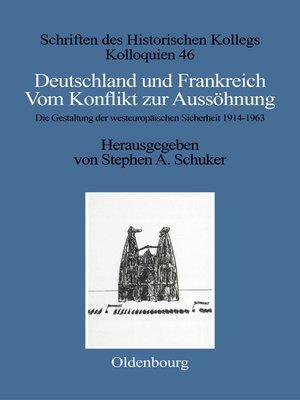 cover image of Deutschland und Frankreich