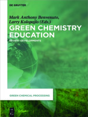 cover image of Green Chemistry Education