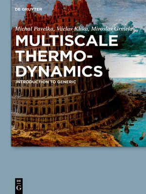 cover image of Multiscale Thermo-Dynamics
