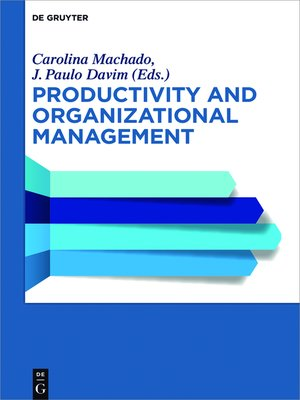 cover image of Productivity and Organizational Management
