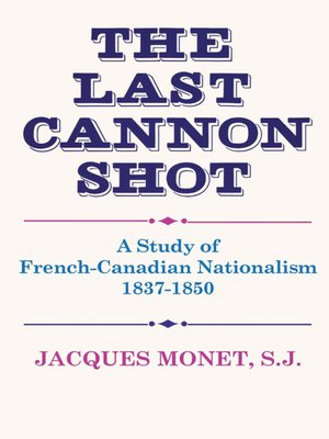 cover image of The Last Cannon Shot