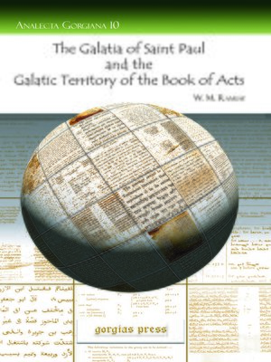 cover image of The Galatia of Saint Paul and the Galatic Territory of the Book of Acts
