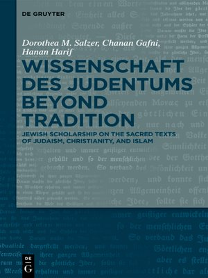 cover image of Wissenschaft des Judentums Beyond Tradition