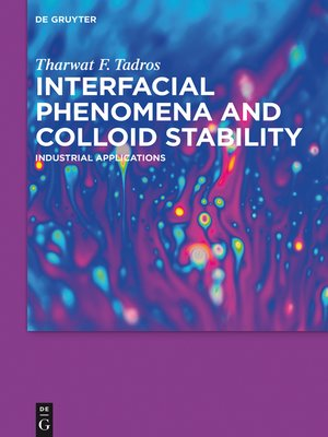 cover image of Interfacial Phenomena and Colloid Stability