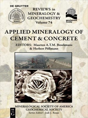 cover image of Applied Mineralogy of Cement & Concrete