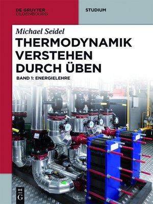 cover image of Thermodynamik verstehen 1
