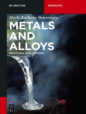 cover image of Metals and Alloys