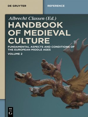 cover image of Handbook of Medieval Culture. Volume 2