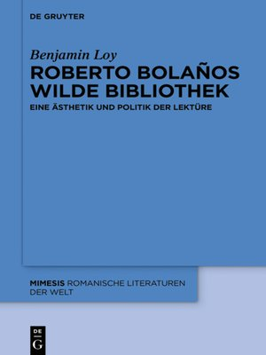 cover image of Roberto Bolaños wilde Bibliothek