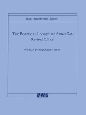 cover image of The Political Legacy of Aung San