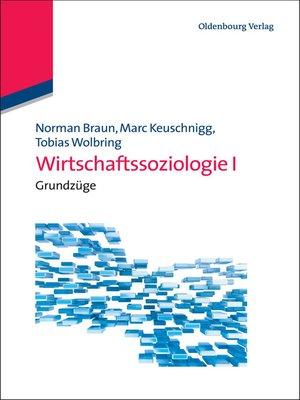cover image of Wirtschaftssoziologie I