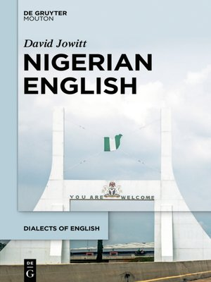 cover image of Nigerian English