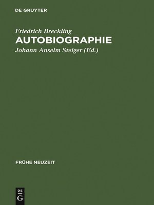 cover image of Autobiographie