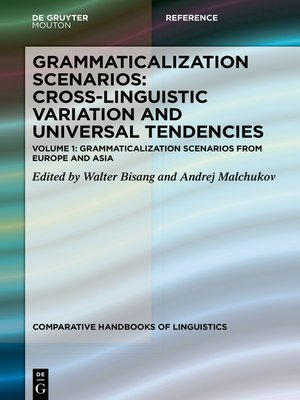 cover image of Grammaticalization Scenarios from Europe and Asia