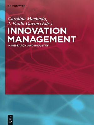 cover image of Innovation Management