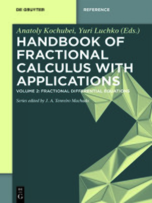 cover image of Fractional Differential Equations
