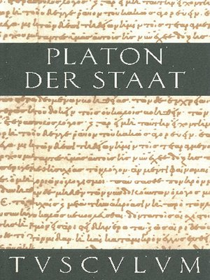 cover image of Der Staat / Politeia