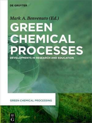 cover image of Green Chemical Processes