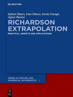cover image of Richardson Extrapolation