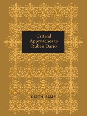 cover image of Critical Approaches to Rubén Darío