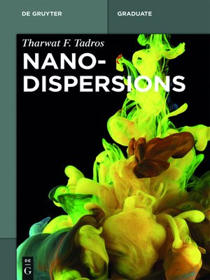 cover image of Nanodispersions