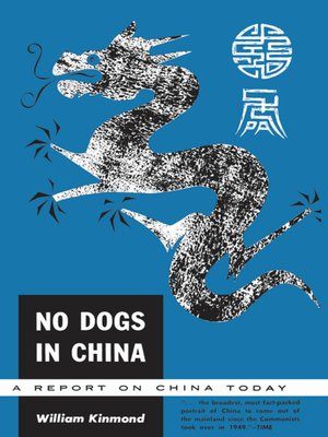 cover image of No Dogs in China