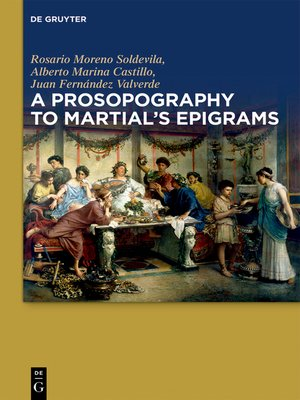 cover image of A Prosopography to Martial's Epigrams