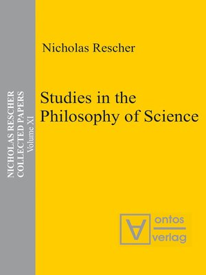 cover image of Studies in the Philosophy of Science