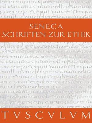 cover image of Schriften zur Ethik