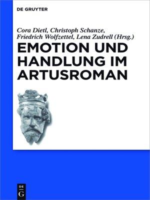 cover image of Emotion und Handlung im Artusroman