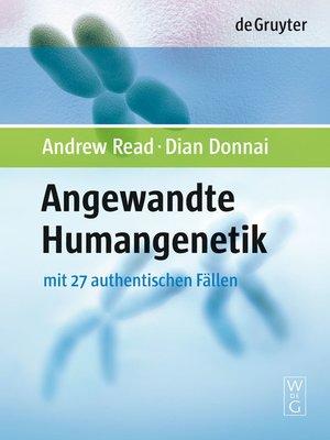 cover image of Angewandte Humangenetik