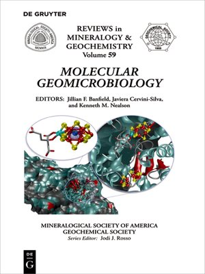 cover image of Molecular Geomicrobiology