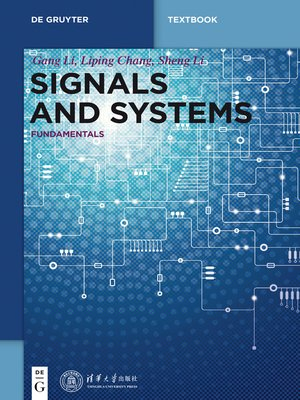 cover image of Signals and Systems