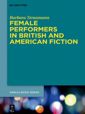 cover image of Female Performers in British and American Fiction