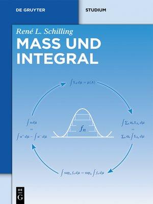 cover image of Maß und Integral