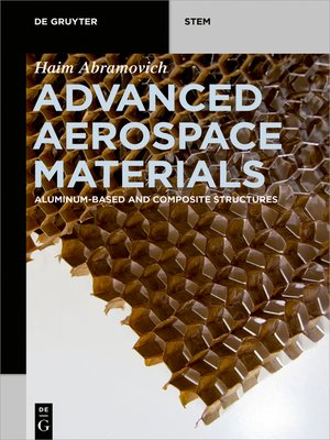 cover image of Advanced Aerospace Materials