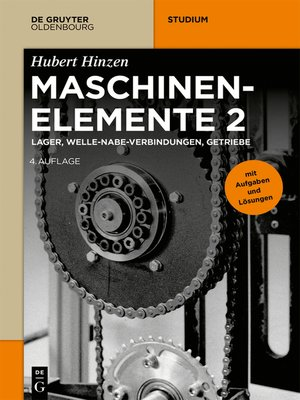 cover image of Maschinenelemente 2