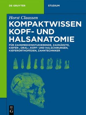 cover image of Kompaktwissen Kopf- und Halsanatomie